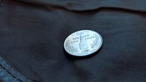Coin Close Up Royalty Free Stock Photo