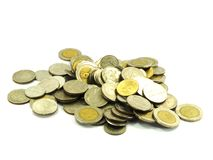 Coin Collecting Royalty Free Stock Images