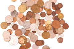 Coin collection Royalty Free Stock Photos