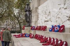 Coin commémoratif Londres Angleterre de Hyde Park d'artillerie royale photos libres de droits