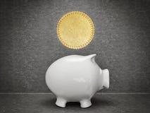 Coin concept Royalty Free Stock Photo