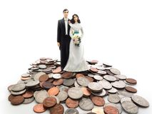 Coin Couple Royalty Free Stock Image