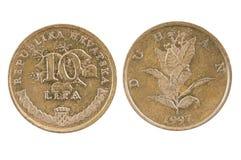 Coin of Croatia. Stock Photography