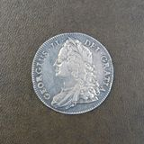 Coin - Crown of King George II Royalty Free Stock Photo