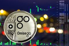 Free Coin Cryptocurrency Omisego Stock Images - 114720144