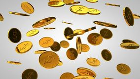 Coin stock footage