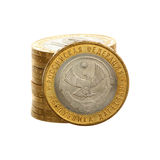 Coin Dagestan Stock Photo