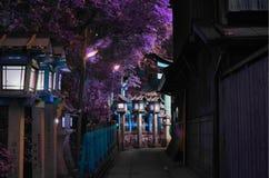 COIN DE BEAUTUFUL À KYOTO photo libre de droits