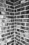Coin de brique photographie stock libre de droits