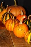 Coin de décoration de thanksgiving Photo libre de droits