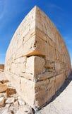 Coin de la construction en pierre antique image libre de droits