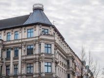 Coin de luxe d'immeuble Images libres de droits