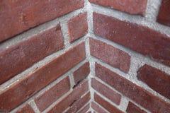 Coin de mur de briques Image libre de droits