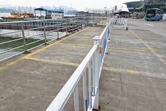 Coin de terminal-Un de ferry de barrière-Xiamen d'isolement de ville de Xiamen Image libre de droits