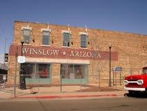 Coin de Winslow Arizona Photos libres de droits