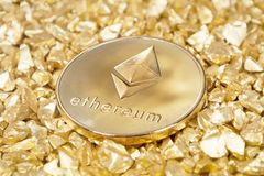 Valuable ethereum technology Royalty Free Stock Photography