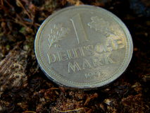 Coin, German Mark, DM Royalty Free Stock Photography