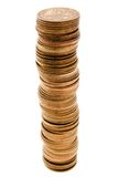 Coin growth. Currency coin backgrounds - finance wealth growth royalty free stock image