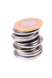 Coin heap Royalty Free Stock Photography
