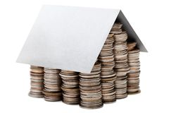 Coin house Stock Photos