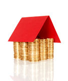 COIN HOUSE Stock Photography