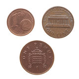 Coin isolated Stock Images