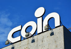 Coin is is an Italian upmarket department store chain dedicated to the worlds of apparel, home decorations, accessories and beauty Royalty Free Stock Photography