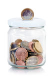 Coin jar Stock Images