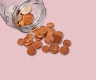 Coin Jar Royalty Free Stock Images