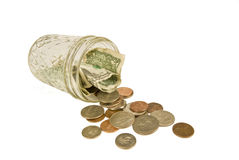 Coin Jar Royalty Free Stock Photos