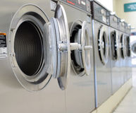 Coin laundry stock photography