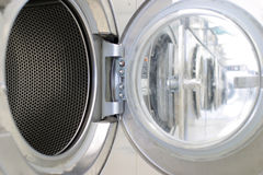 Coin laundry Royalty Free Stock Photo