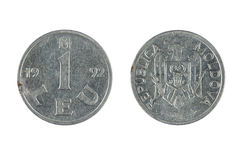 Coin Moldova Royalty Free Stock Images