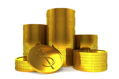 Coin Money Division Royalty Free Stock Photography