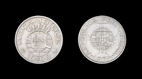 Coin of Mozambique Stock Photo