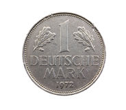 Coin in one DM Stock Photo