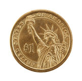 Coin one dollar. Royalty Free Stock Image
