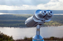Coin Operated Binocular Royalty Free Stock Photos