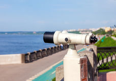 Coin Operated Binocular Royalty Free Stock Images
