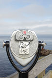 Coin operated binoculars Stock Photography