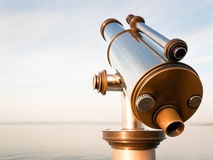Coin-operated binoculars. At the bodensee/germany Stock Images