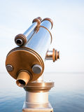 Coin operated binoculars Royalty Free Stock Image
