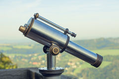Coin Operated Binoculars Stock Images