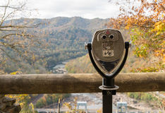 Coin Operated Binoculars At Hawks Nest