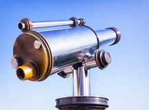 Coin-operated binoculars Royalty Free Stock Photography