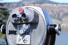 Coin-operated binoculars Stock Image