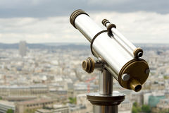 Coin operated telescope Stock Images