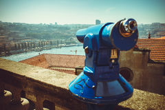 Coin Operated Telescope Royalty Free Stock Photo
