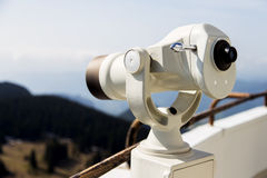 Coin Operated Telescope Stock Photography