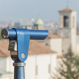 Coin Operated Telescope for Sightseeing. Stock Photography